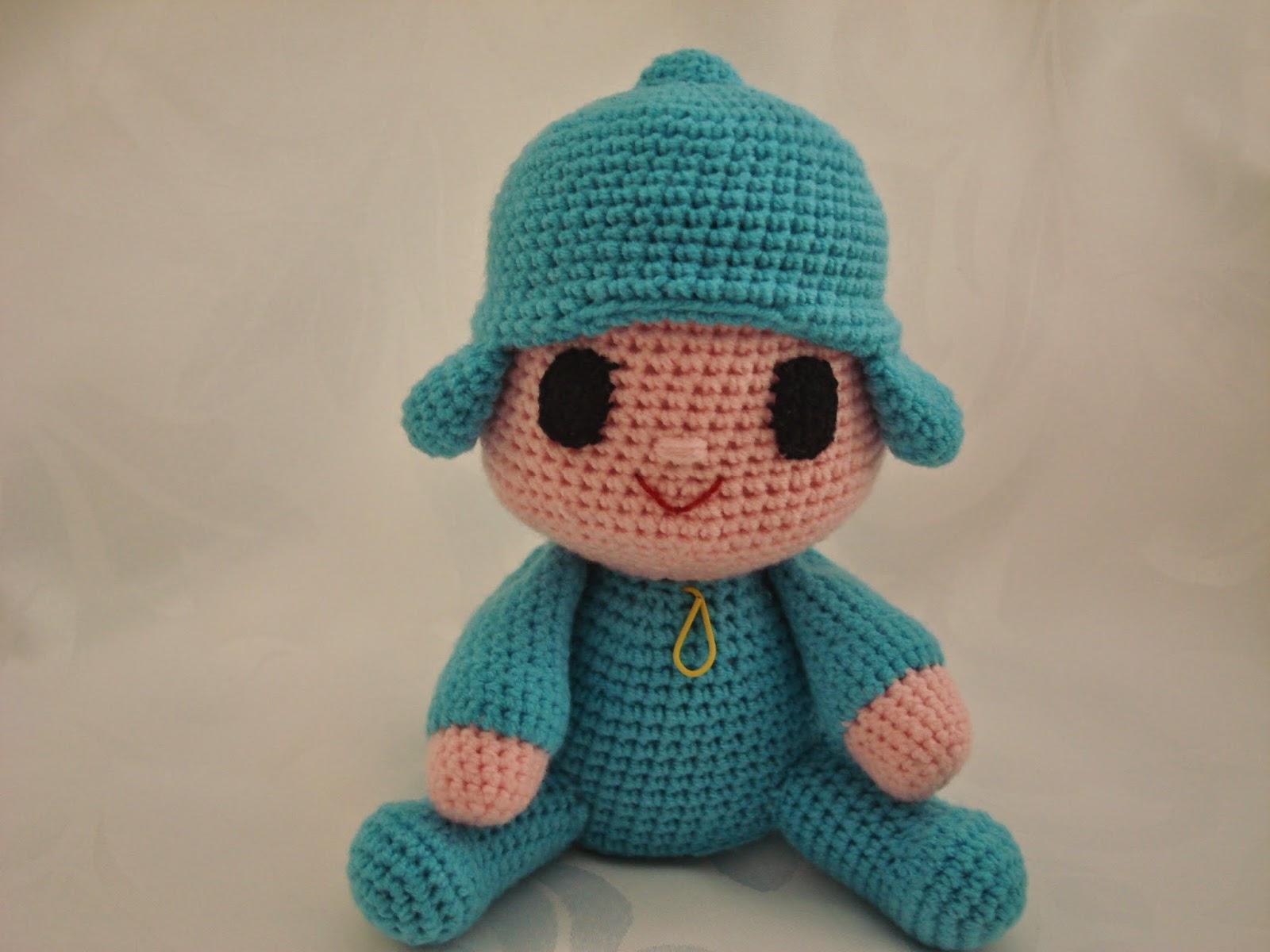 Amigurumi Single Crochet : CANAL CROCHET: Pocoyo amigurumi patron libre
