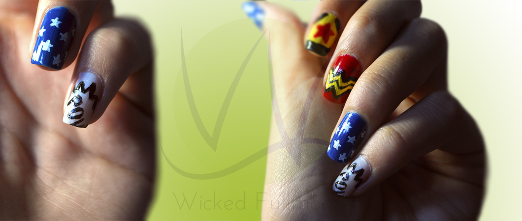 Nails Challenge Day 29: Inspired by the Supernatural - Wicked Fullmoon
