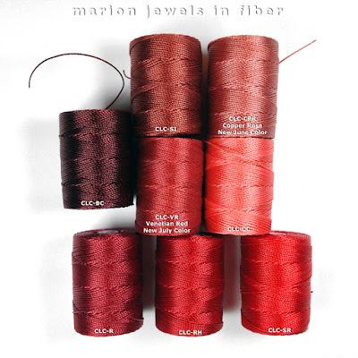 Compare C-Lon Bead Cord Venetian Red to C-Lon Reds