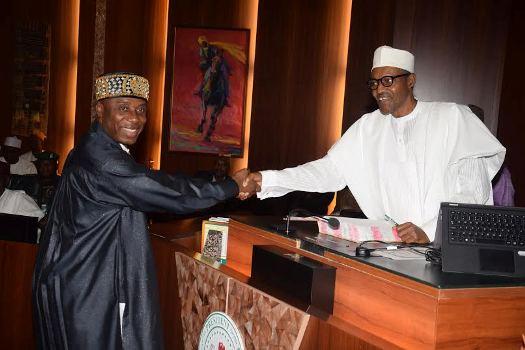 Buhari and rotimi amaechi