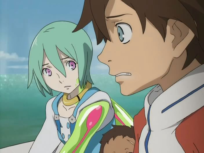 Adult eureka seven swim