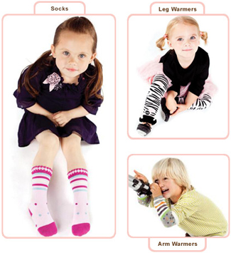 BabyLegs leg warmers, socks & tights
