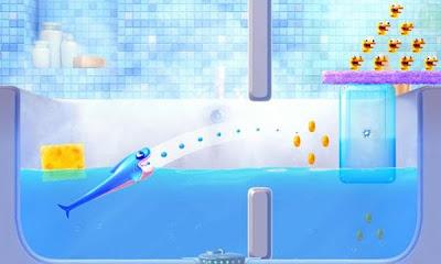 shark dash 0002 Shark Dash, los tiburones contra los patos en este juego gratuito para iPhone