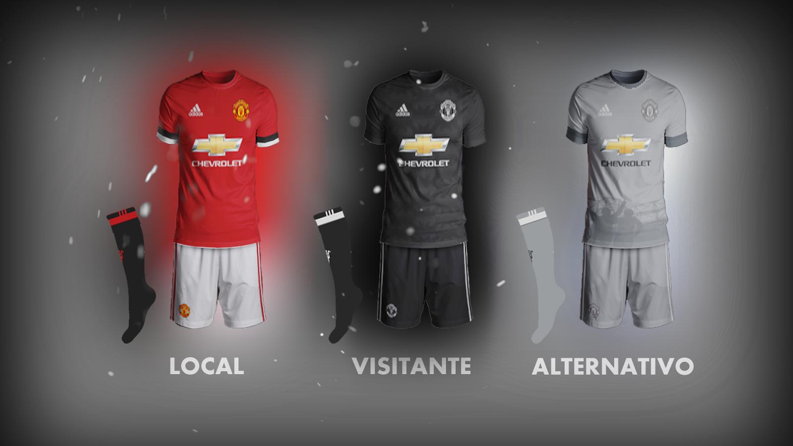 Fts15kits Manchester United Posibles Uniformes 2017 2018