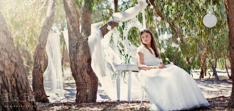 Daclick fotografos de boda alicante elche murcia alea for Fotos comunion exterior nina