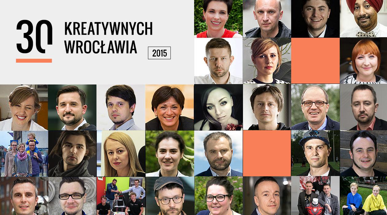 30 kreatywnych Wrocławia 2015
