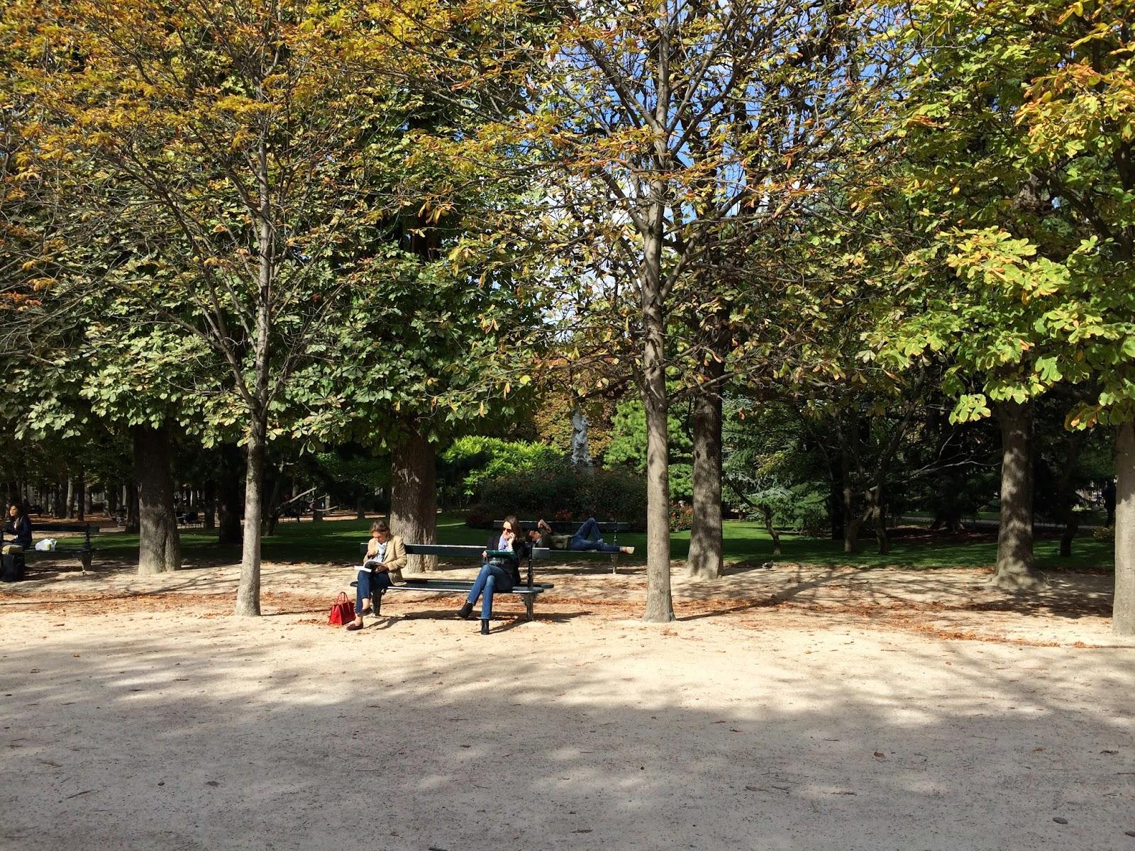 Luxemburg bahçesi park