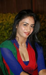 Pooja Sri  Pictures in Salwar Kameez at AIINA Women Awards 2014 Curtain Raiser ~ Celebs Next