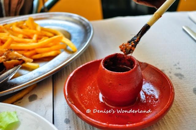 Legendary Portugese Roast Chicken Borjadim Lisbon Restaurant