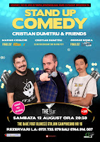 Stand-Up Comedy Sambata 12 August  Bucuresti