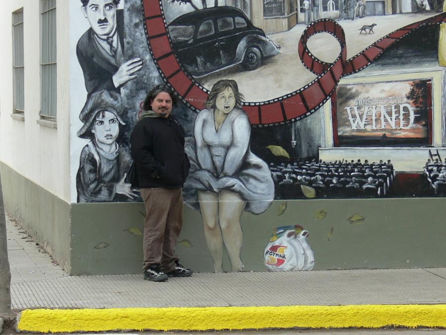 Perfiles espinosa los murales de chelo candia cuentan la for El mural pelicula argentina