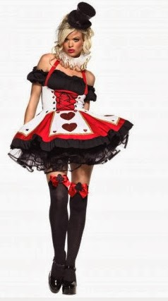 heart costume alice