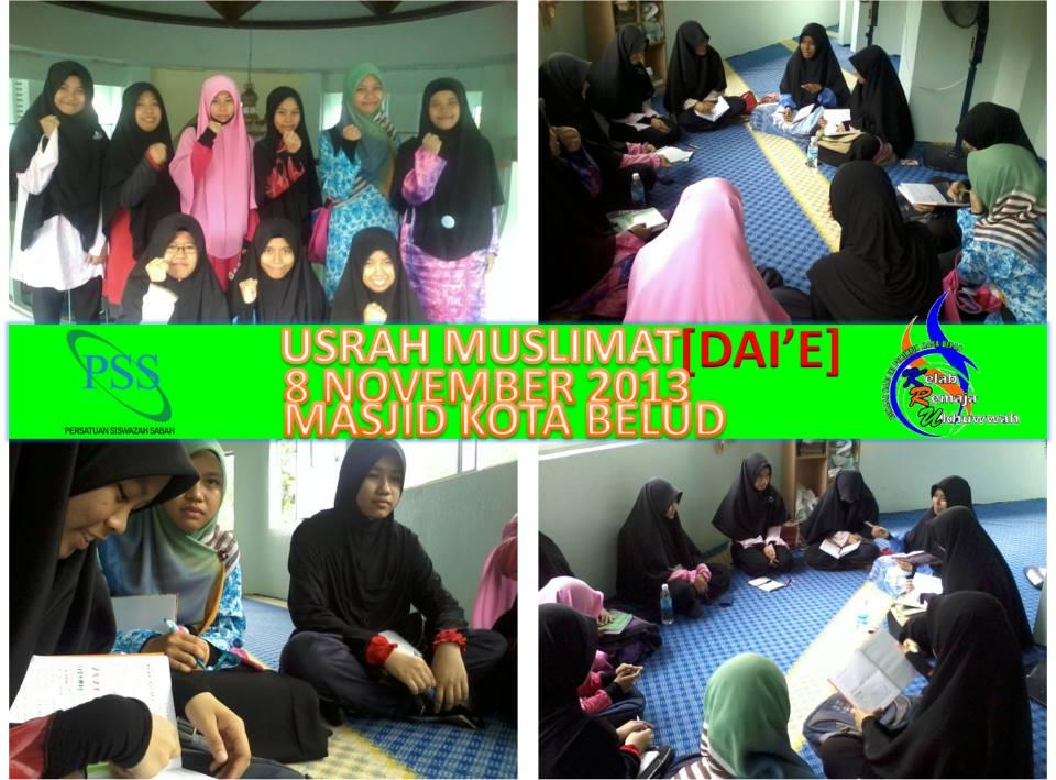 Usrah Muslimat [DAI'E] November 2013