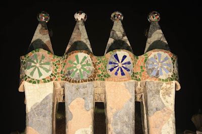 Chimneys of Casa Batlló