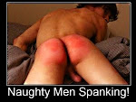 Naughty Men Spanking