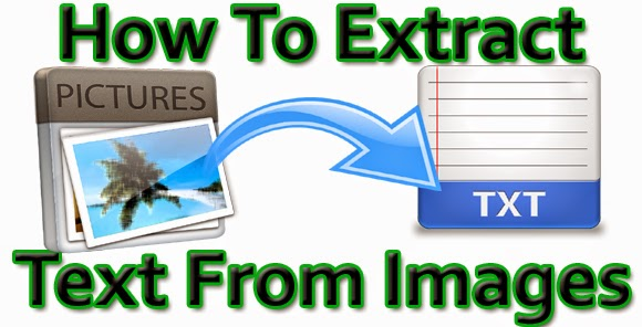 How to extract text from an image or PDF