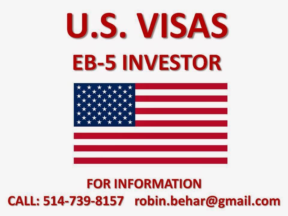 NEED AN EB-5 VISAS FOR THE USA?