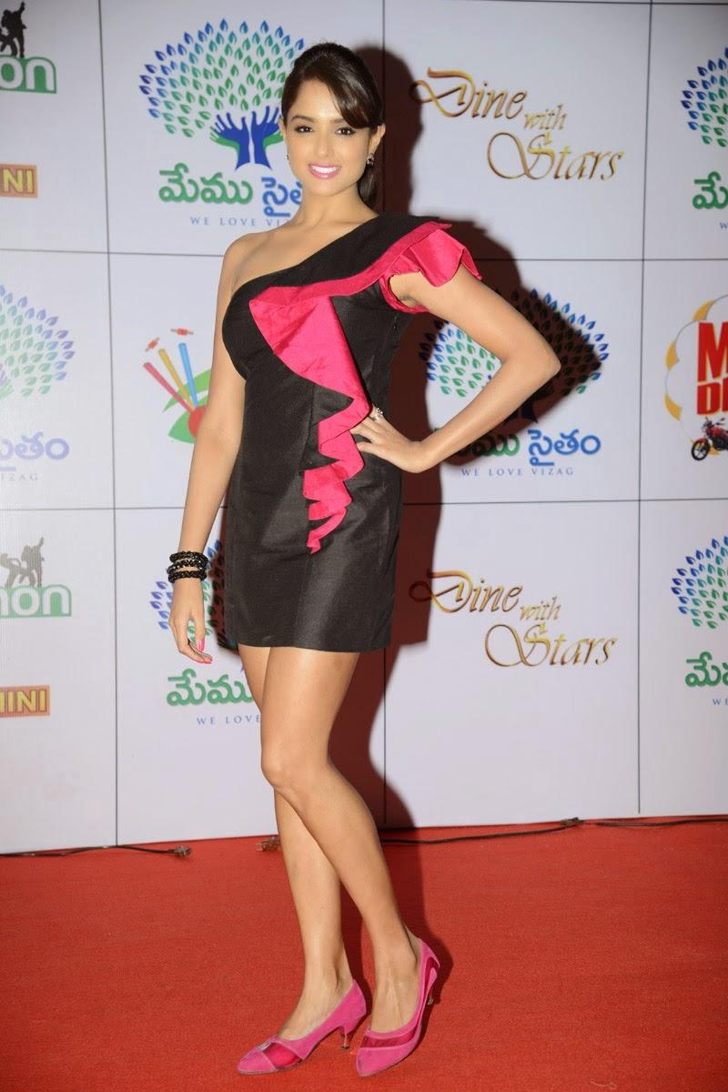 Asmita Sood At Dinner With Stars Glamorous Photos