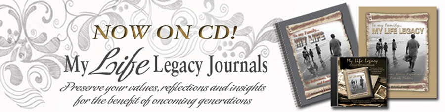 LEGACY by DESIGN   - Journal your Ethical Will, Family History, Values, Insights, Personal Story