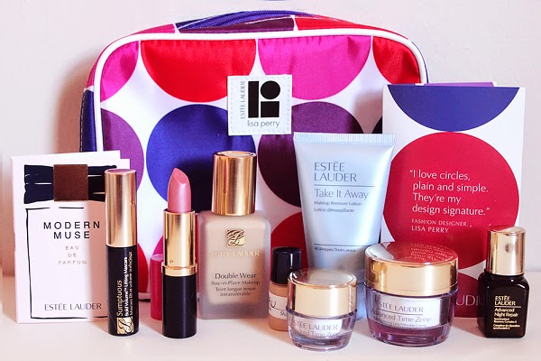 Estee Lauder Collaborates with Lisa Perry - Macys Get free 8 pc set with purchases of $35 or more!
