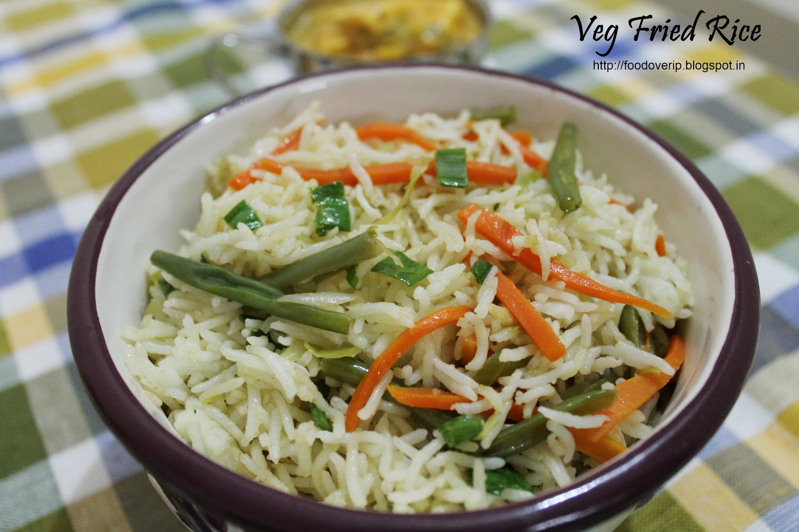 Food over IP: Vegetable Fried Rice