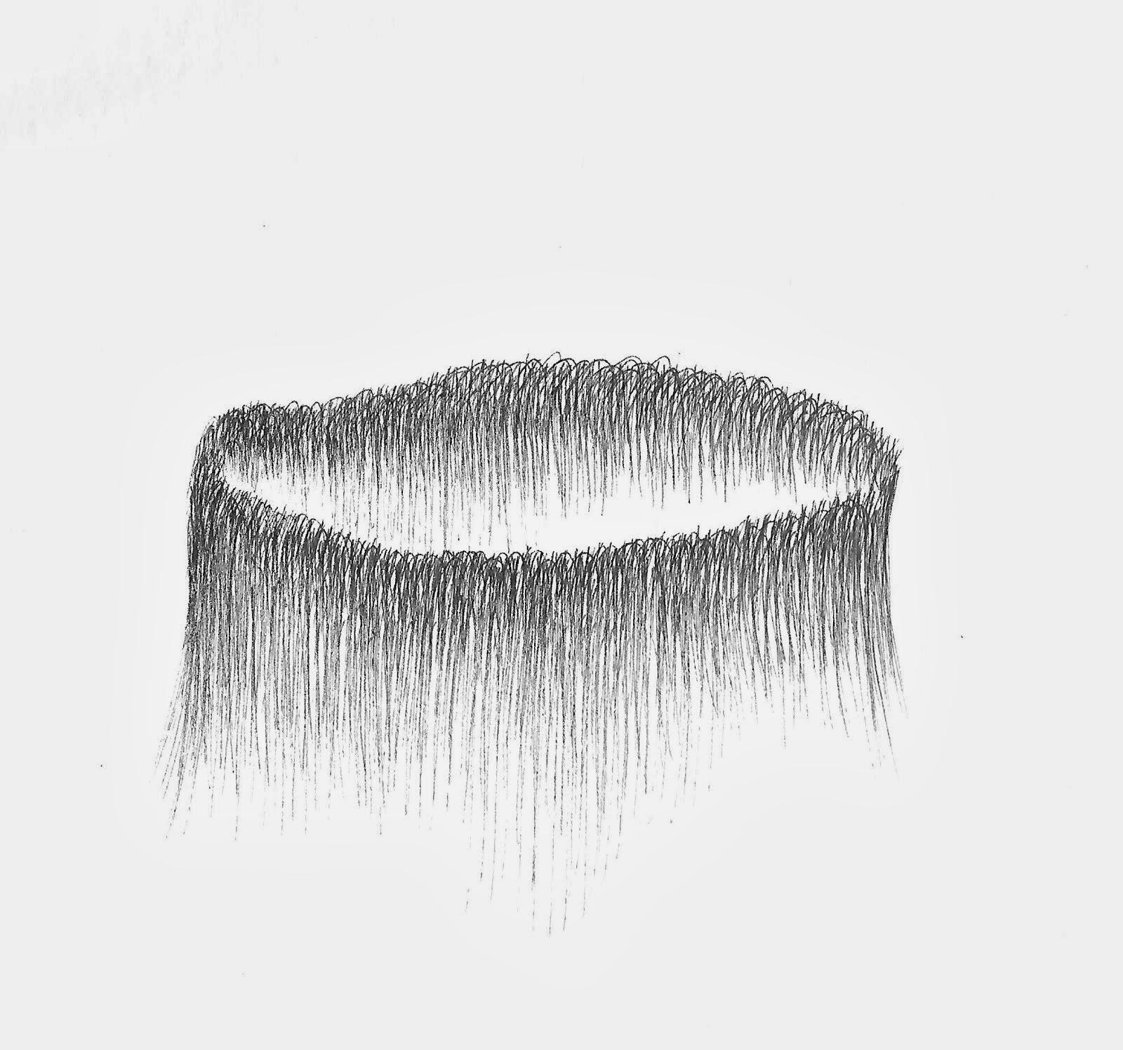 """""""Décharger"""" 2013 encre sur papier 25 x 25 cm"""