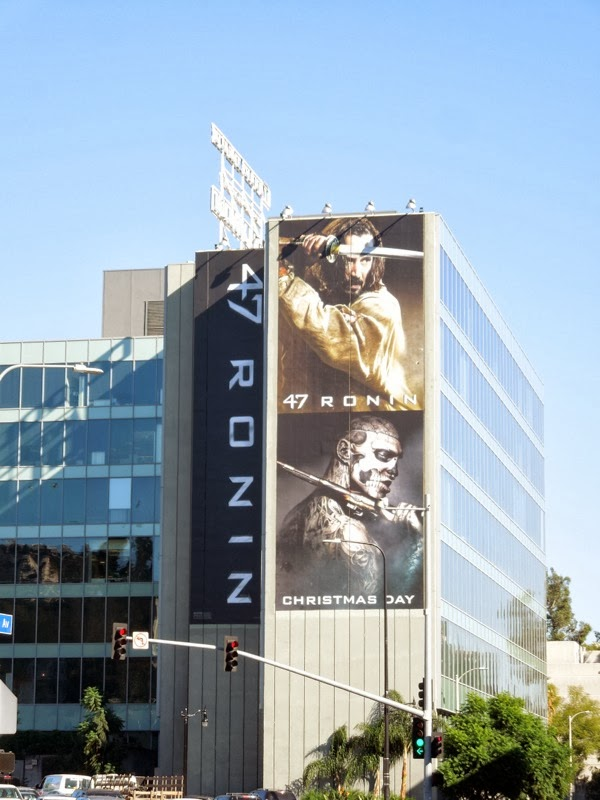 Giant 47 Ronin movie billboard