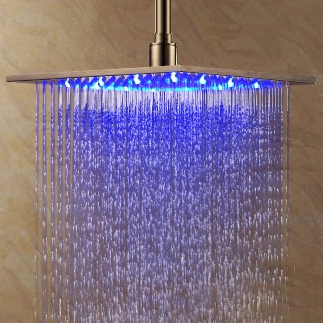 bathroom led ceiling lights bathroom fixture with blue shower