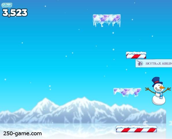 لعبة رجل الثلج