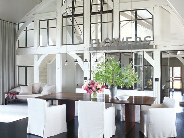 Kan deesign ideas which celebrity dining for All white dining room