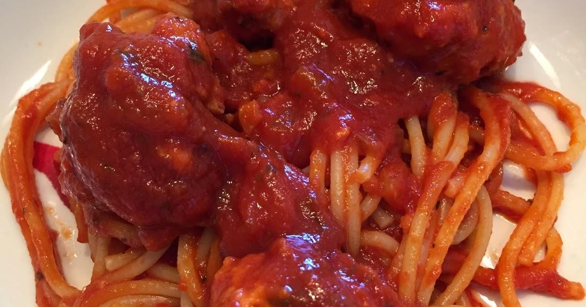 Cocinar sin sal espaguetis con alb ndigas al tomate sin sal - Cocinar sin sal ...