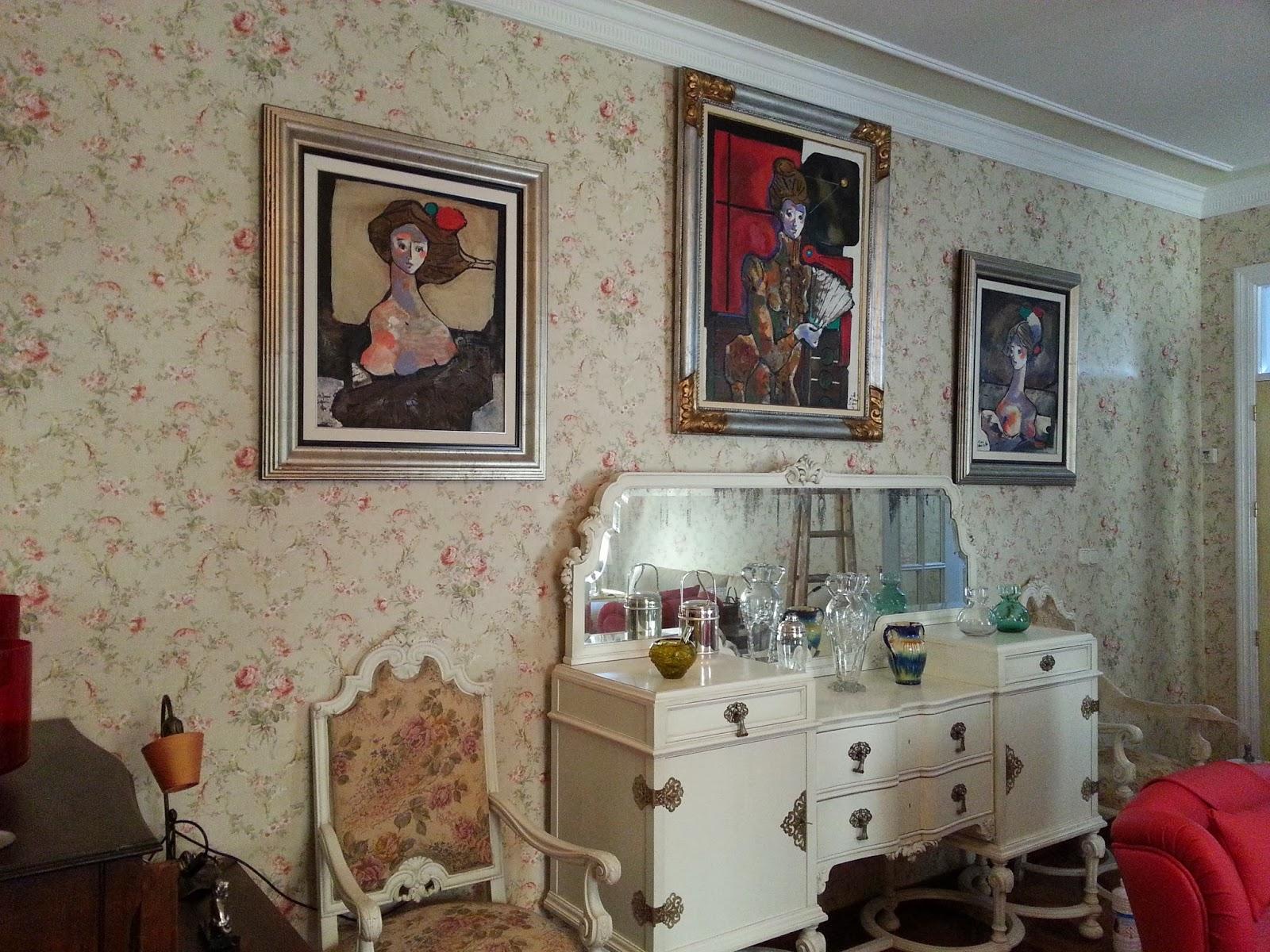 Papeles pintados y decoraciones en general papeles pintados estilo cl sicos - Papeles pintados clasicos ...