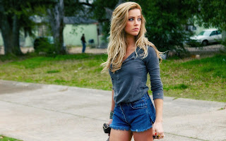 Amber heard model of hollywood actress wallpapers