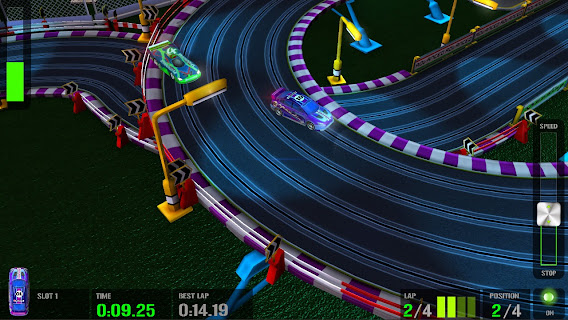 HTR+ Slot Car Simulation ScreenShot 03