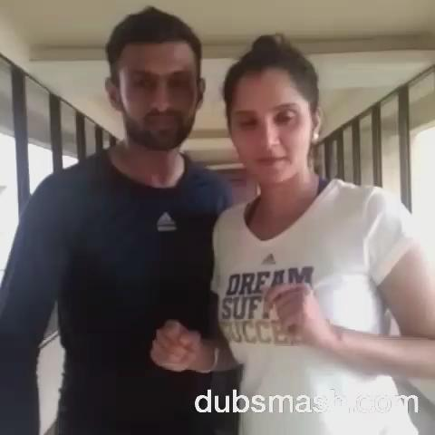For Pakistan a routine ODI win again Sri Lanka turned into a mega event when Indian tennis star Saniza Mirza led their team's victory celebrations  in  a viral Dubsmash video.