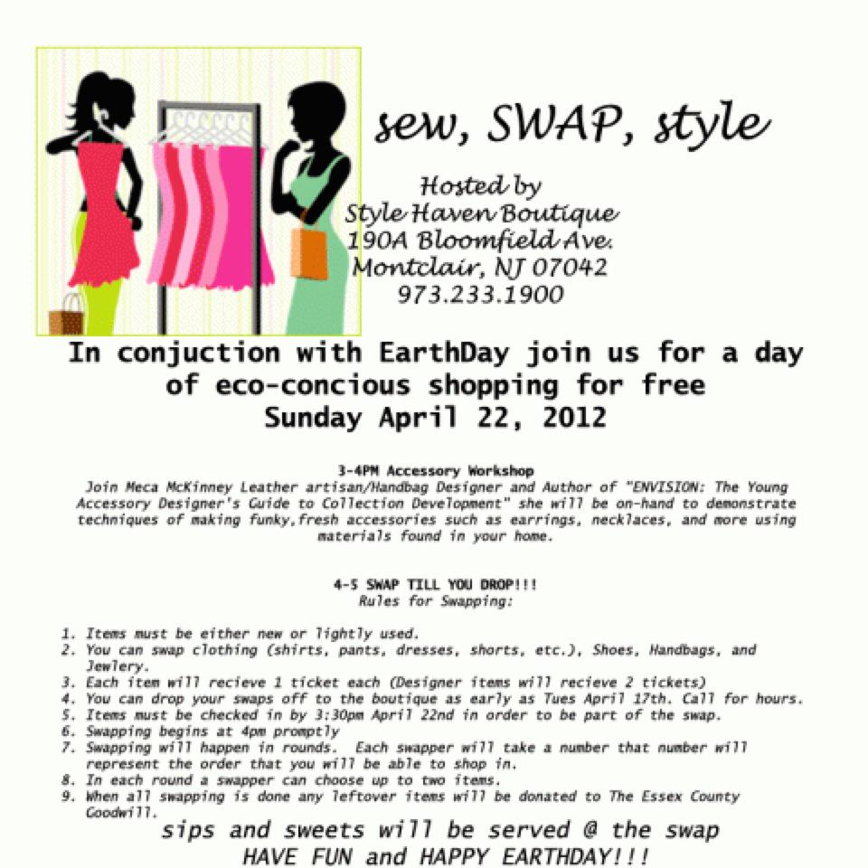 LIFESTYLES OF THE AUTHENTIC & CREATIVE: Press Release: Sew, Swap and ...