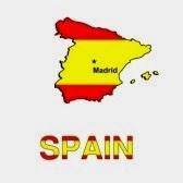 Испания в виде флага