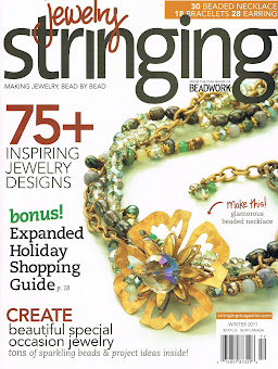 My Work Can Be Seen In...Stringing Magazine