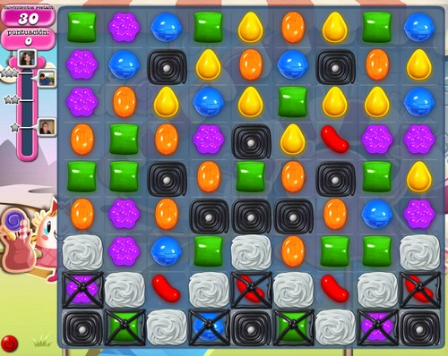 Nivel 83 de Candy Crush Saga