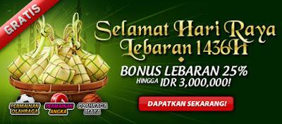 Promosi Bonus Lebaran 12BET