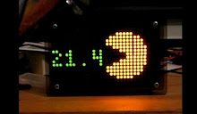 Wise Clock 3 - Pacman