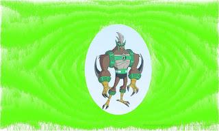 Ben 10 Omniverse Alien : Kickin Hawk
