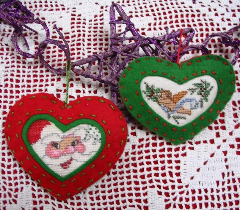 <b>Вышивка</b> <b>крестом</b> / Cross stitch : Примеры новогодней вышивки