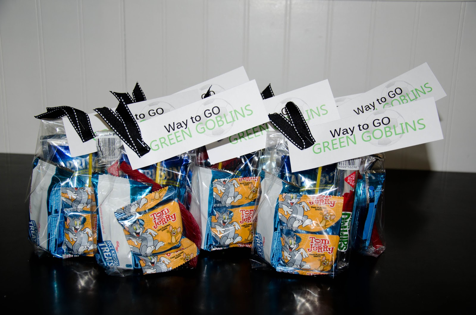 soccer game treat bags housewives of riverton