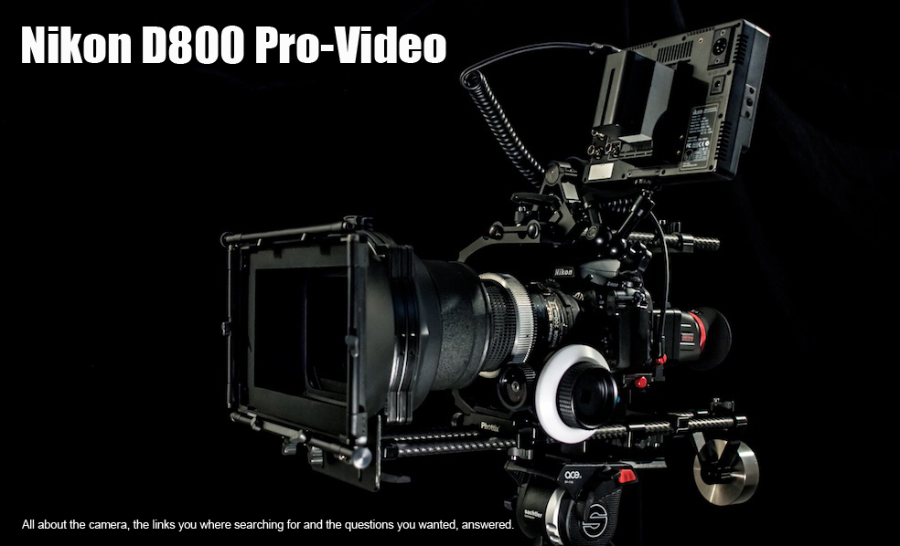 Nikon D800 Pro-Video