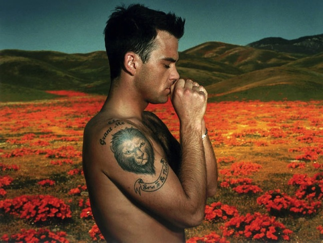 Robbie Williams Bikram Yoga
