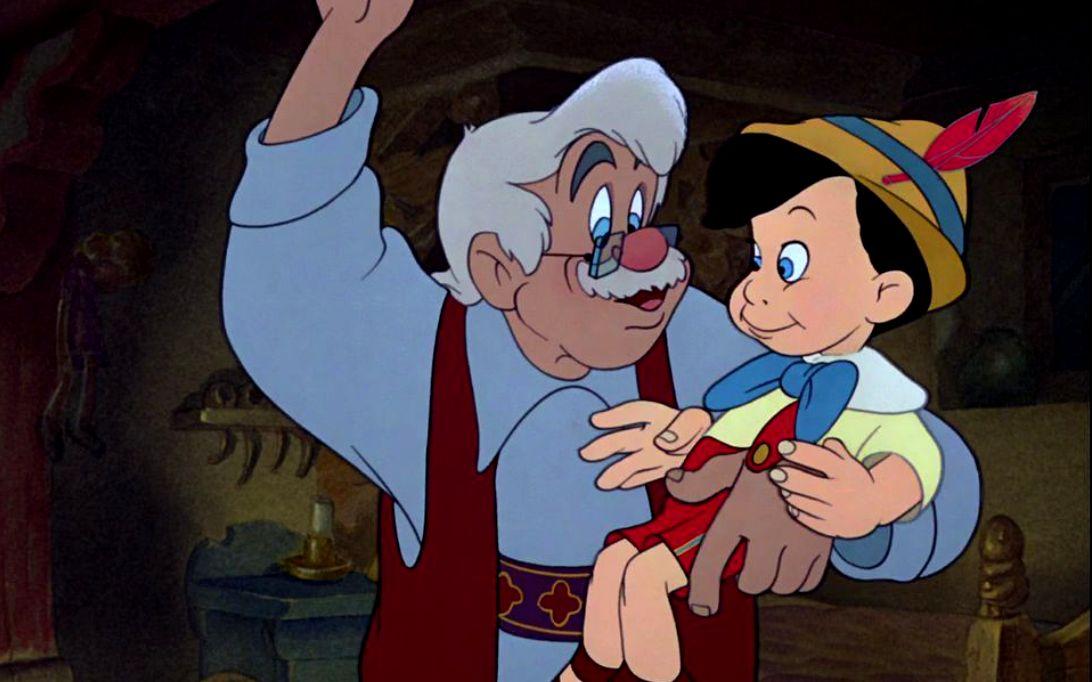 Pinokio, Gambar Kartun 4