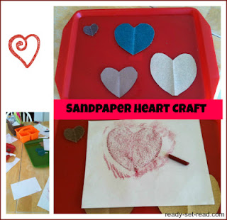 crafts for kids, valentines day for kids, ready set read, image