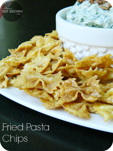 Mom's Test Kitchen: Fried Pasta Chips