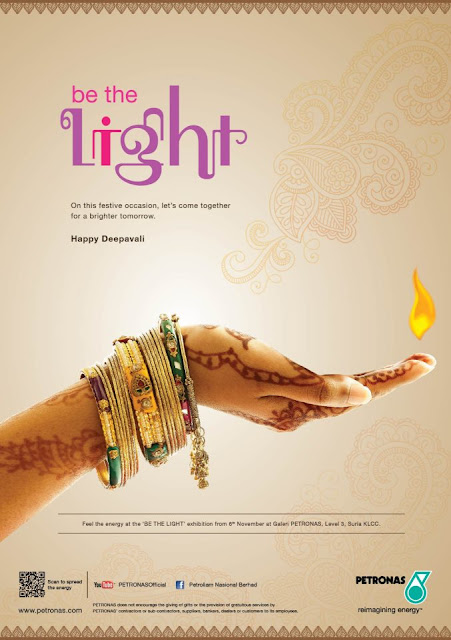 kempen deepavali 2012 - be the light